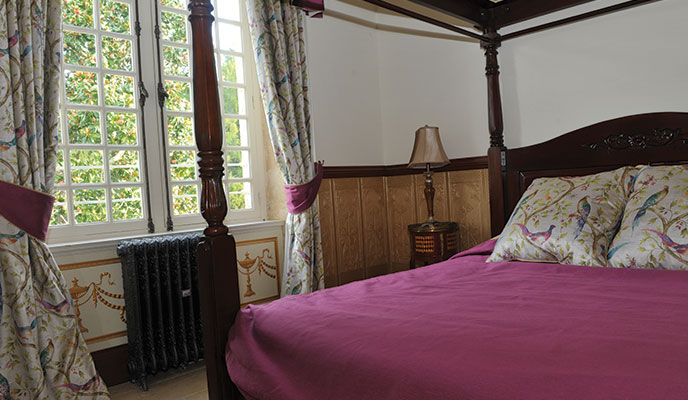 Bedroom in the Small Gite